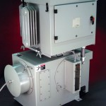 70kW, 70kV, Bottom Exit Ground Switch, Side View